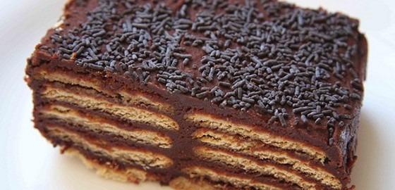 A receita de bolo mais fácil do mundo.