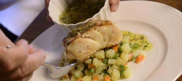 Receita Badejo Grelhado com legumes